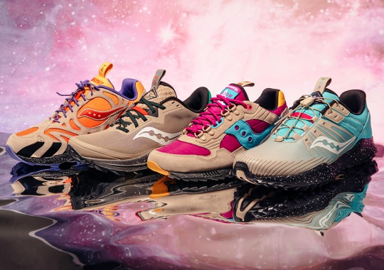 "Saucony Explores The Outdoor Elements With The ""Astrotrail"" Pack"