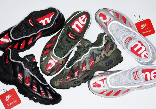 The Supreme x Nike Air Max 96 Releases On May 6th