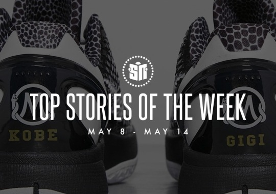 Thirteen Can't Miss Sneaker News Headlines from May 8th to May 14th