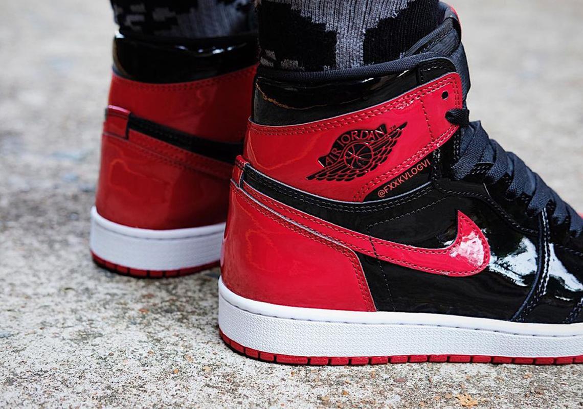 Air Jordan 1 Patent Bred Release Date   SneakerNews.com