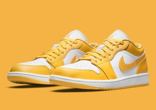 This Mustard-Colored Air Jordan 1 Low Will Also Release For Adults