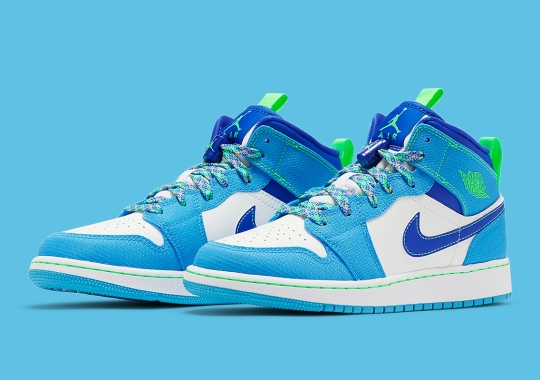 The Air Jordan 1 Mid For Kids Sees A Slight Hiking-Themed Transformation