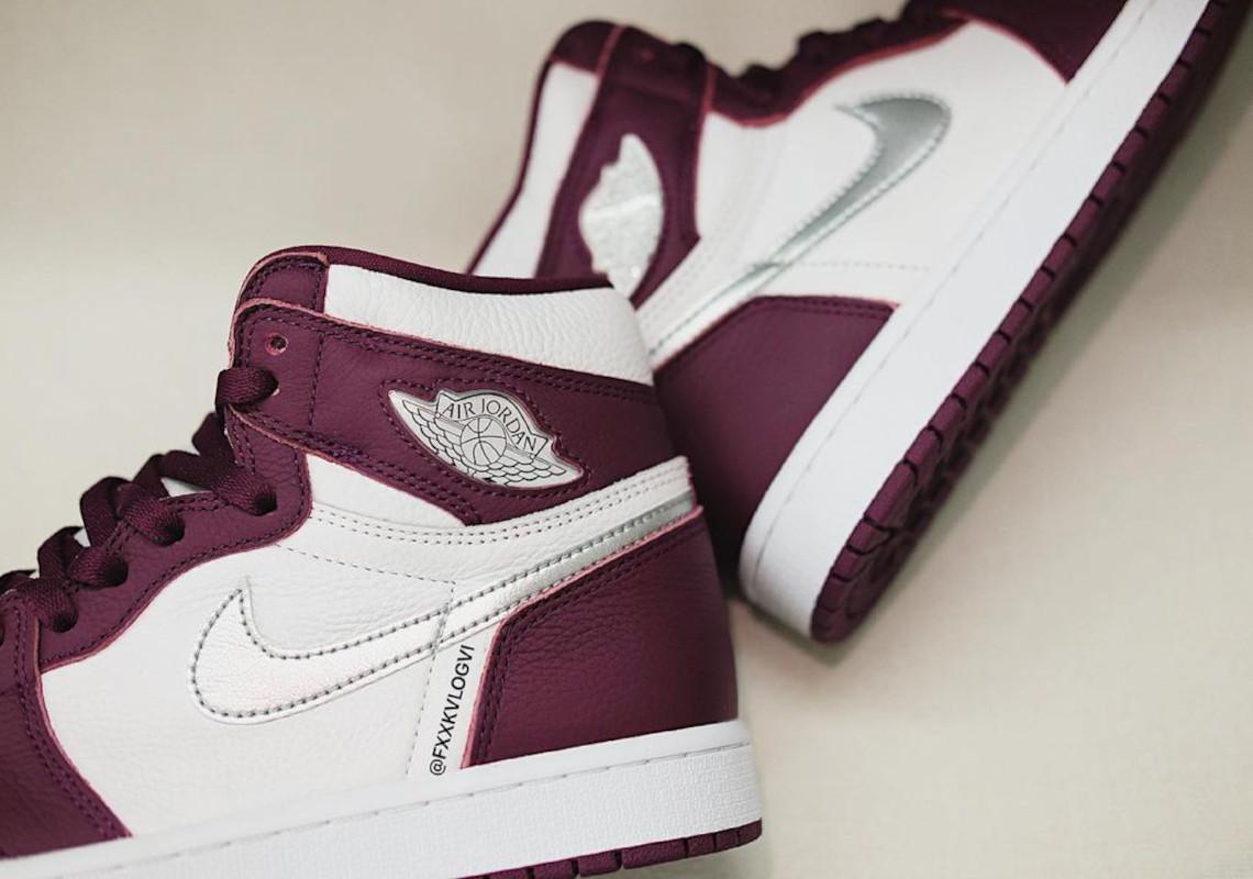 Air Jordan 1 Retro High OG Bordeaux 555088-611 | SneakerNews.com