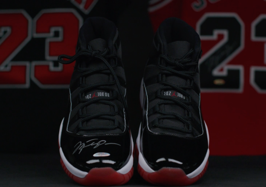 """Upper Deck To Sell Autographed Air Jordan 11 """"Bred"""" In Honor Of Shoe's Anniversary"""