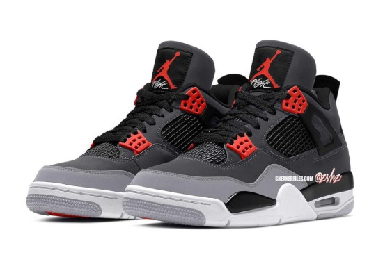 """An Air Jordan 4 """"Infrared 23"""" Release Expected February 2022"""