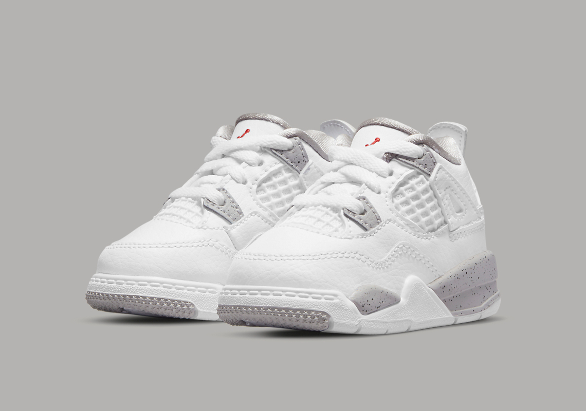 Air Jordan 4 Retro TD 'White Oreo'