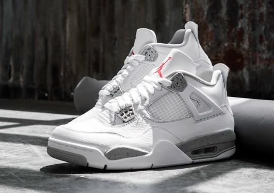 "Where To Buy The Air Jordan 4 ""White Oreo"""