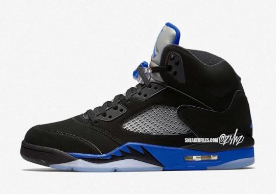 "The Air Jordan 5 ""Racer Blue"" Expected February 2022"