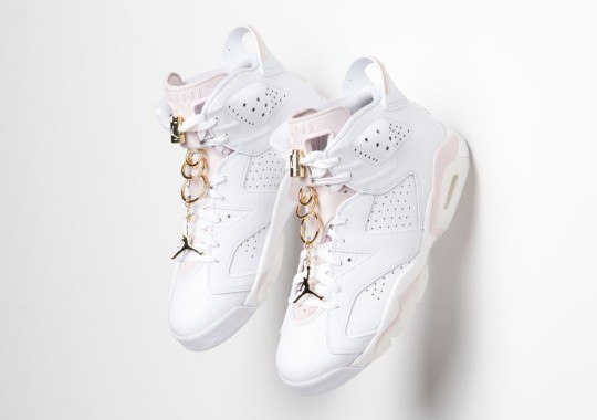 "The Air Jordan 6 ""Gold Hoops"" Releases Tomorrow"