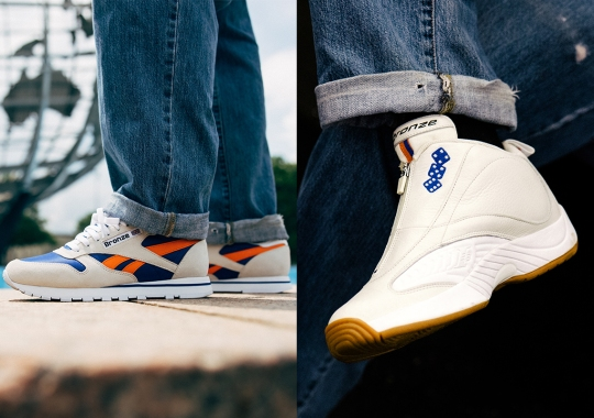 Bronze 56k And Reebok Channel The NY Energy With Their Classic Leather And Answer IV