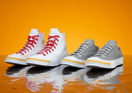 CLOT To Release Both A Converse Chuck 70 Hi And Low On June 18th