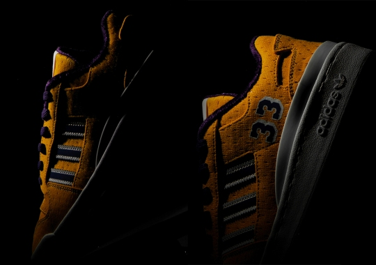 Kareem Abdul-Jabbar Links Up With adidas LA For Lakers-Inspired Forum Low