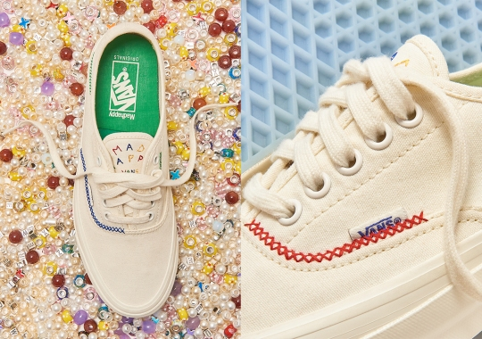 Madhappy Dresses The Vault By Vans OG Style 43 LX With Their Signature Stitching