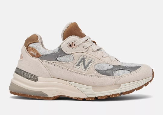 New Balance Adds Cork And Recycled Polyester To This Women's 992