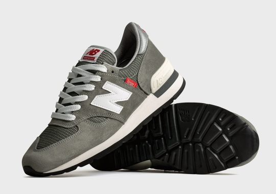 New Balance Reintroduces The MADE 990v1 In Honor Of The Model's 40th Anniversary