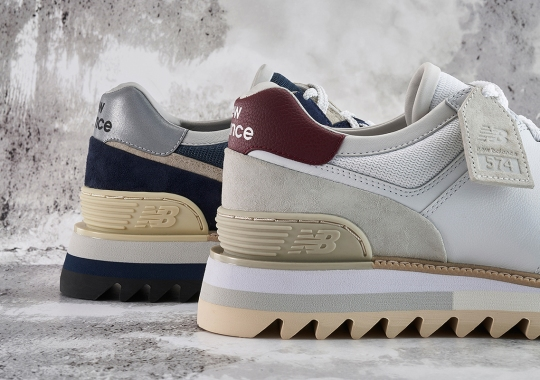 New Balance Presents The TDS 574 In New White And Navy Colorways