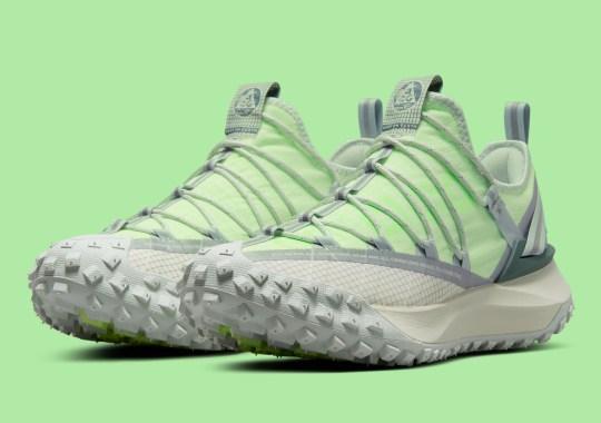 "Nike ACG Mountain Fly Returns In Vibrant ""Sea Glass/Lime Blast"""