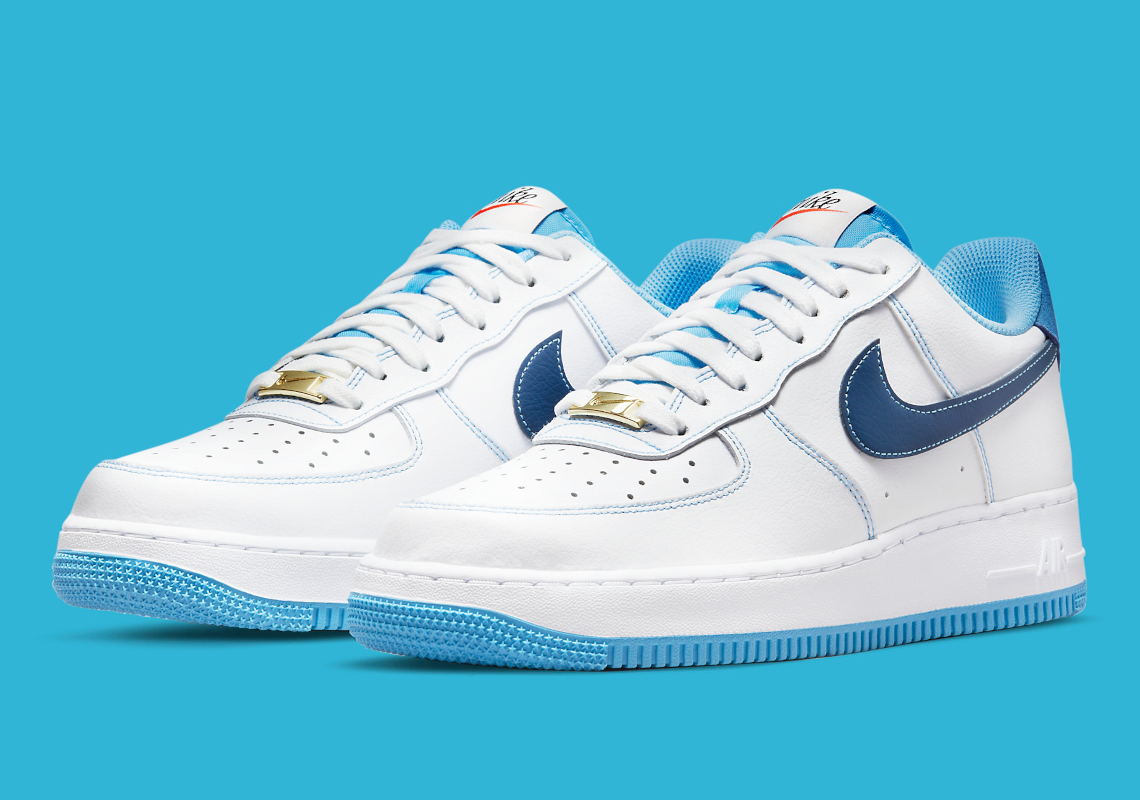 Nike Air Force 1 Low First Use Blue DA8478-100 | SneakerNews.com