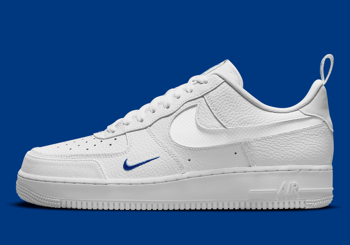 Nike Air Force 1 Low White Grey Blue DN4433-100 | SneakerNews.com