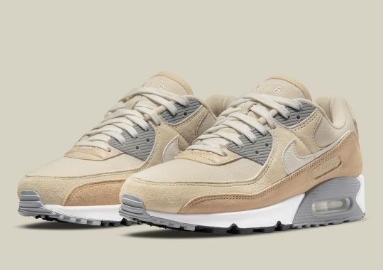 The Nike Air Max 90 Sees A Simple Desert Drab Colorway