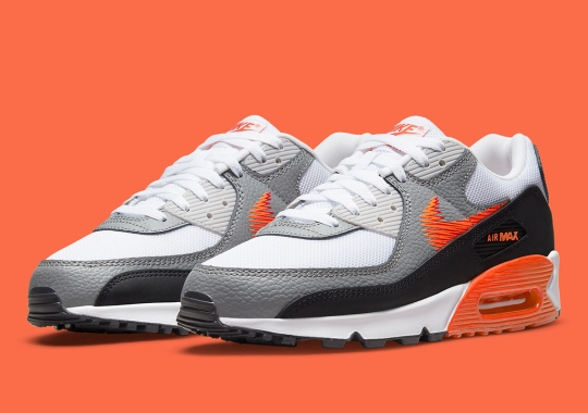"""The Nike Air Max 90 Rounds Out The """"Zig Zag"""" Pack"""