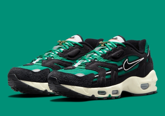 """The Newly Retro'd Nike Air Max 96 II Joins The """"First Use"""" Pack"""
