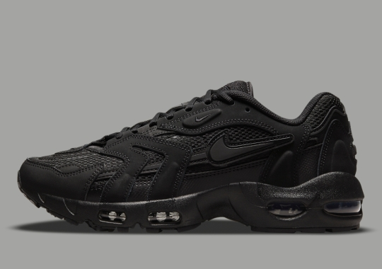 The Nike Air Max 96 II Goes Into Stealth Mode With Triple-Black