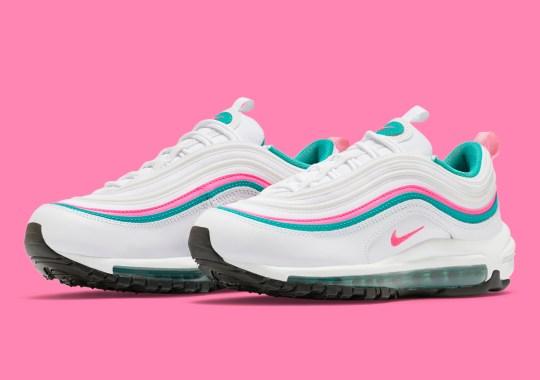 "The Nike Air Max 97 ""South Beach"" Appears For Summer"