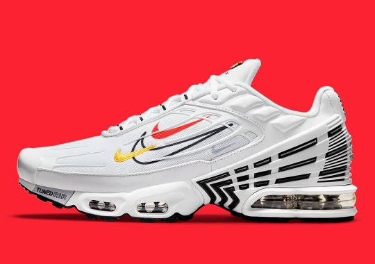 """Double Swoosh Not Enough? Here's The Nike Air Max Plus 3 """"Multi-Swoosh"""""""