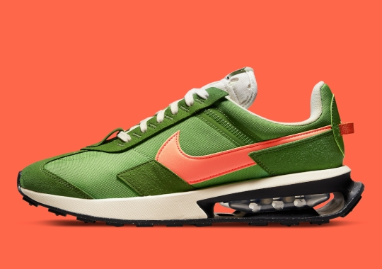 Military Flight Jacket Colors Land On The Nike Air Max Pre-Day