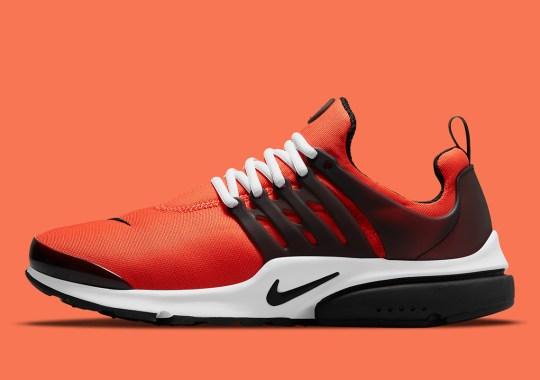 The Nike Air Presto Arrives In Orange Neoprene Uppers
