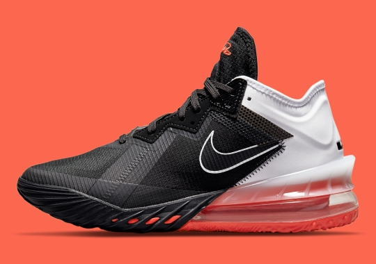 """Official Images Of The Nike LeBron 18 Low """"Heart Of Lion"""""""