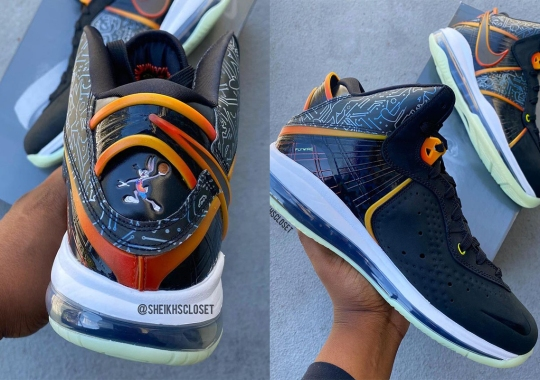 Nike LeBron 8 Surfaces In A Space Jam: A New Legacy Colorway
