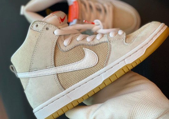Nike SB Dunk High ISO Revealed In New Suede And Canvas Uppers