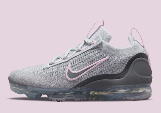 Nike Attaches Grey And Pink To The Vapormax Flyknit 2021