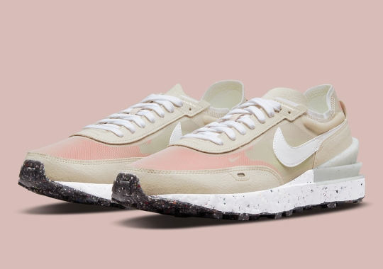An Elegant Cream Lands On The Nike Waffle One Crater