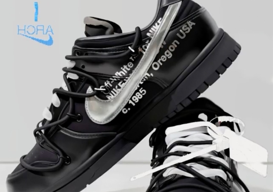"""Off-White And Nike Transplant The """"MoMA"""" Colorway Onto The Dunk Low"""