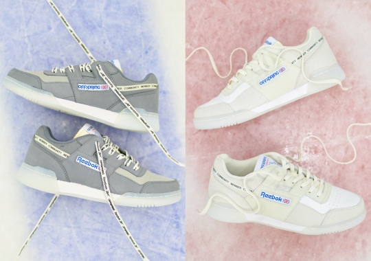 Offspring Adds Their Personal Touch To The Icy-Soled Reebok Workout Plus
