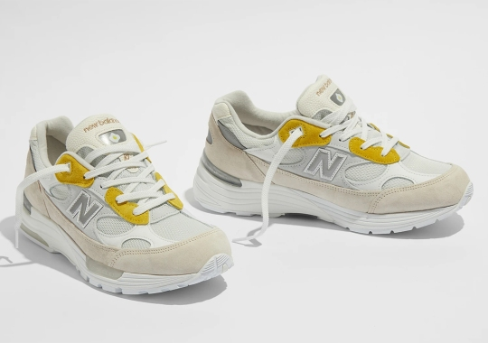 """The Paperboy x New Balance 992 """"Fried Egg"""" Sees A Wider Release On June 18th"""