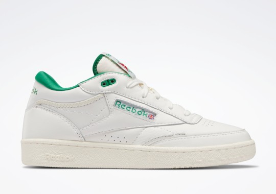 """Reebok Introduces The Club C Mid II In """"Glen Green"""" And """"Bright Cobalt"""""""