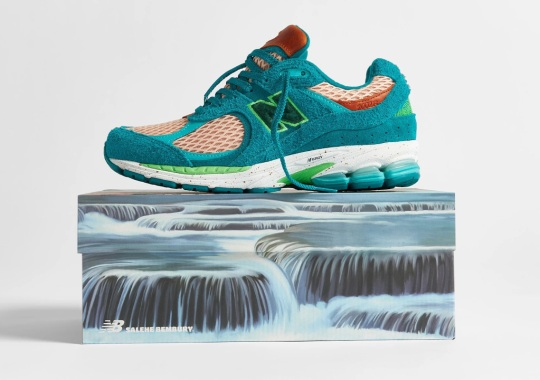 """Salehe Bembury's New Balance 2002R """"Water Be The Guide"""" Releases Tomorrow"""