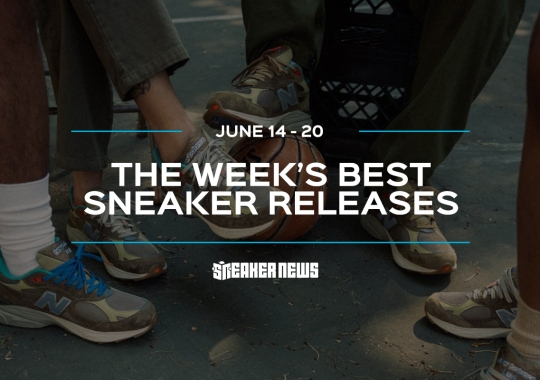 The AMBUSH Dunk High And Bodega x New Balance 990v3 Lead This Week's Best Releases