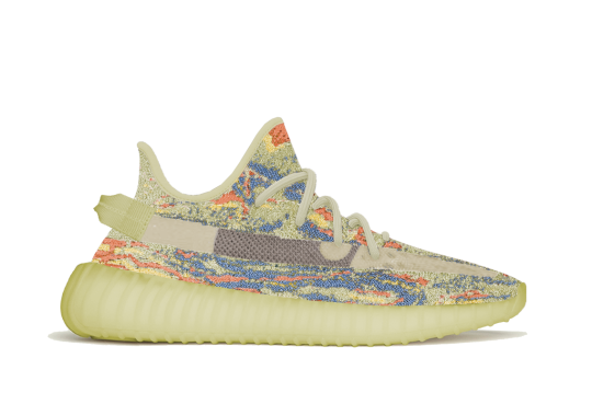 """adidas YEEZY BOOST 350 V2 """"MX Oat"""" Clashes Colors On A Yellow Base"""