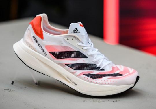 adidas Running Unleashes Its Latest Wave Led By The adizero adios Pro 2