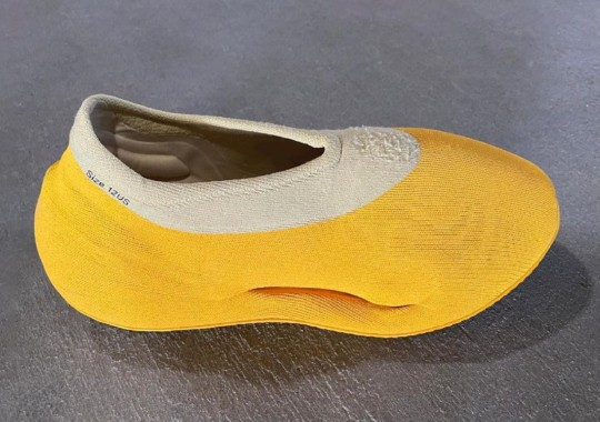 """The adidas YEEZY KNIT RUNNER To Debut In """"Case Power Yellow"""" Fall 2021"""
