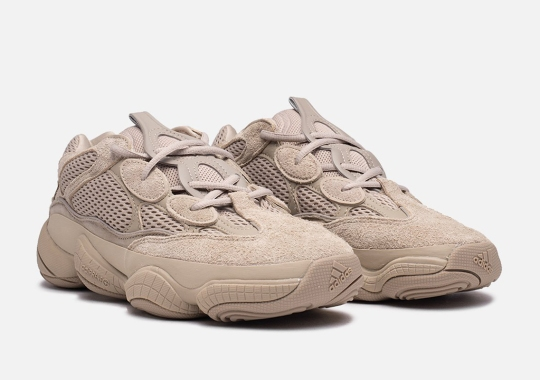 """The adidas Yeezy 500 """"Taupe Light"""" Releases Tomorrow"""