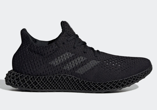 The adidas Futurecraft 4D Returns In Triple Black
