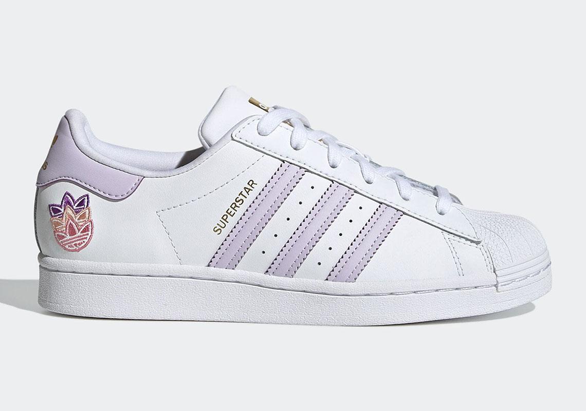 adidas Superstar Purple Tint Matte Gold GZ8143 | SneakerNews.com