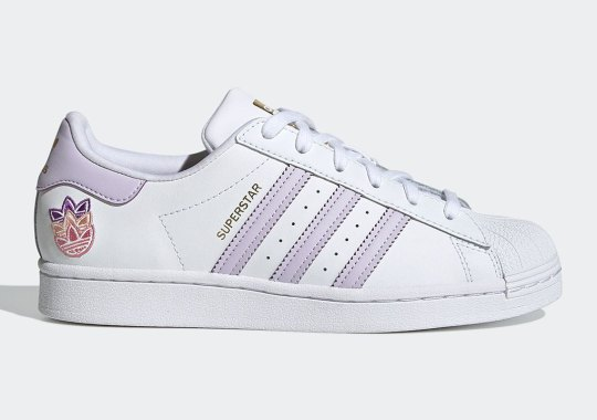 adidas Introduces A Shadowed Trefoil On This Women's Superstar