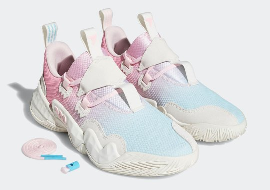 """Trae Young's Cold Game Exemplified By The Upcoming adidas Trae Young 1 """"ICEE"""""""
